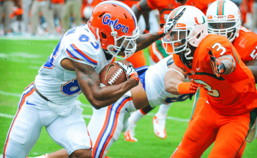 With the SEC announcing to stick with an 8 game schedule, there's hope for the future of the Florida-Miami rivalry