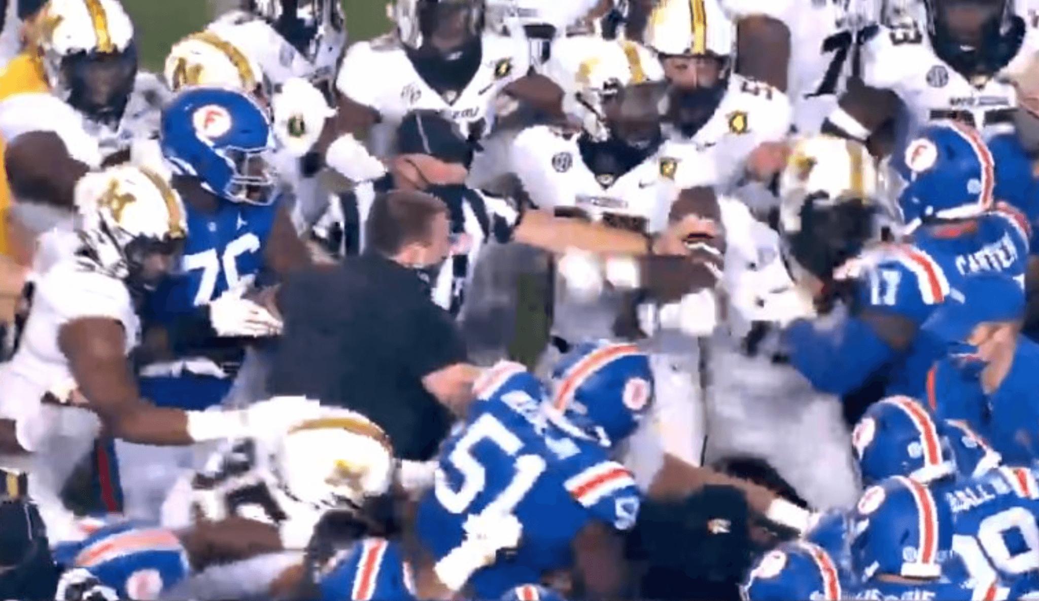 Florida-Missouri brawl